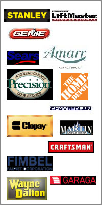 garage door brands we service